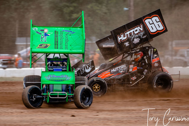 Land of Legends CRSA Sprint Car racing in Canandaigua