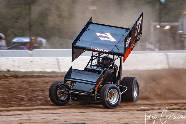 Land of Legends CRSA Sprint Cars in Canandaigua