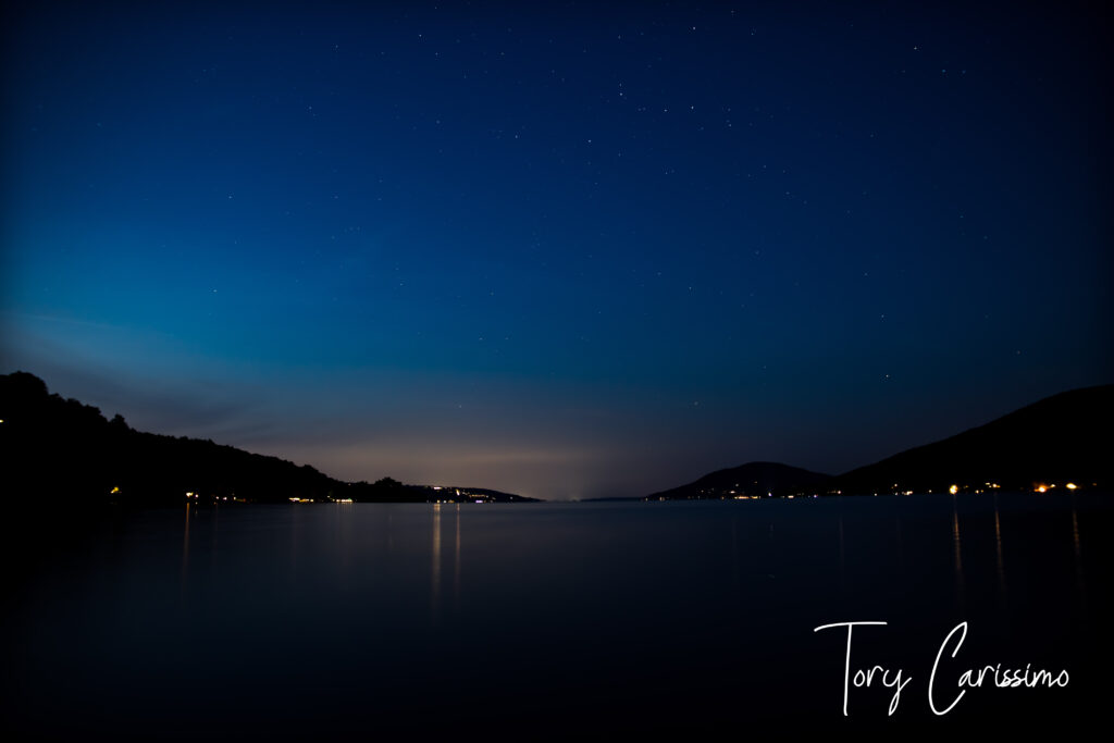 Canandaigua Lake at Night by Tory Carissimo